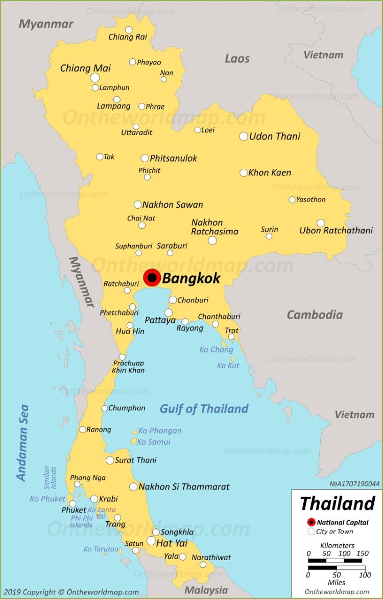Thailand Maps   Maps of Thailand