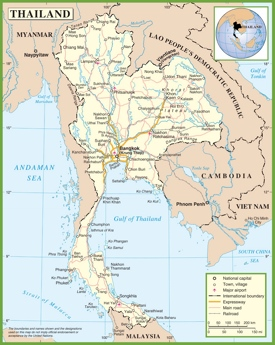 Thailand road map