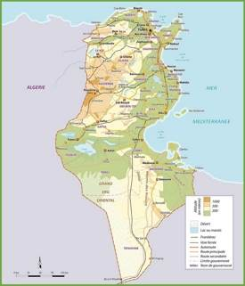 Tunisia road map