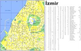 İzmir street map