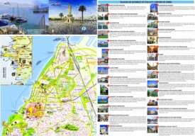 İzmir tourist attractions map
