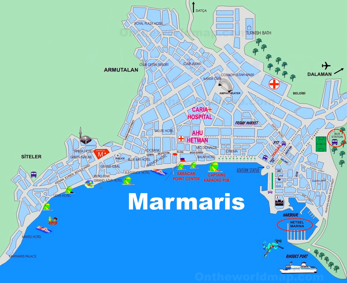 map of venice italy streets with Marmaris Tourist Map on Bonn Bad Godesberg Map likewise Hamburg City Centre Map also La Rochelle Tourist Map as well Pool Dubai Mall besides Trieste Italy Yay Or Nay.