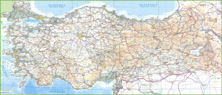 Turkey road map
