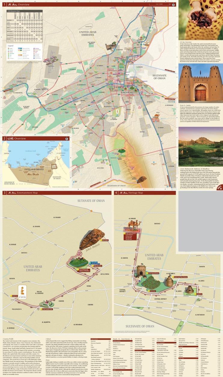 Al Ain city map