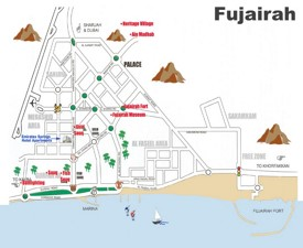 Fujairah Maps UAE Maps of Fujairah
