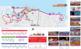 Sharjah sightseeing map