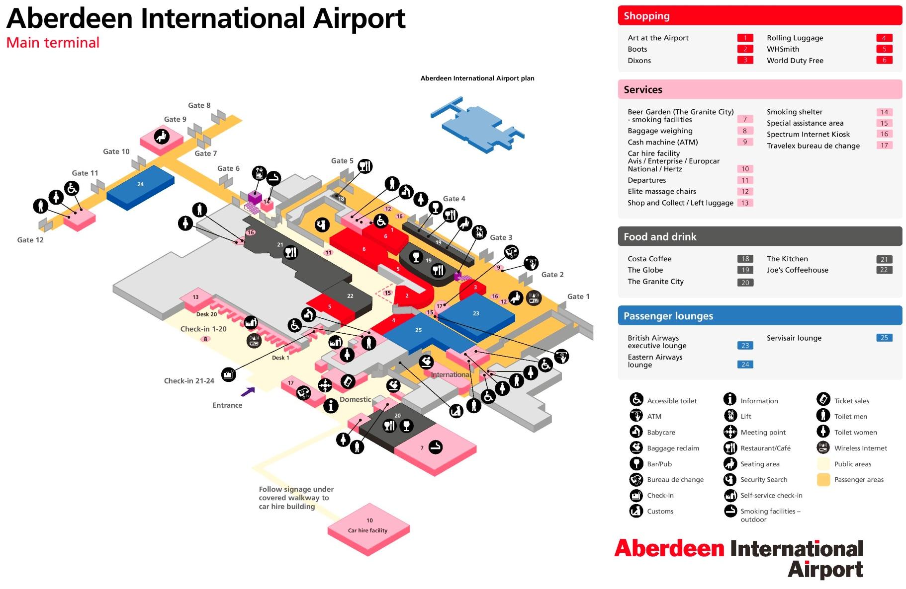 Aberdeen Maps UK Maps of Aberdeen