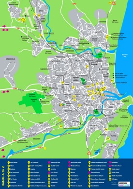 Aberdeen hotel map
