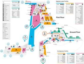 Birmingham airport map