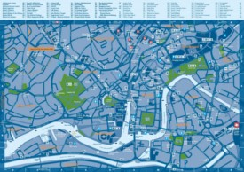Bristol tourist attractions map