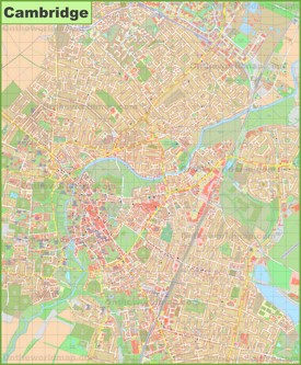Cambridge Maps UK Maps of Cambridge