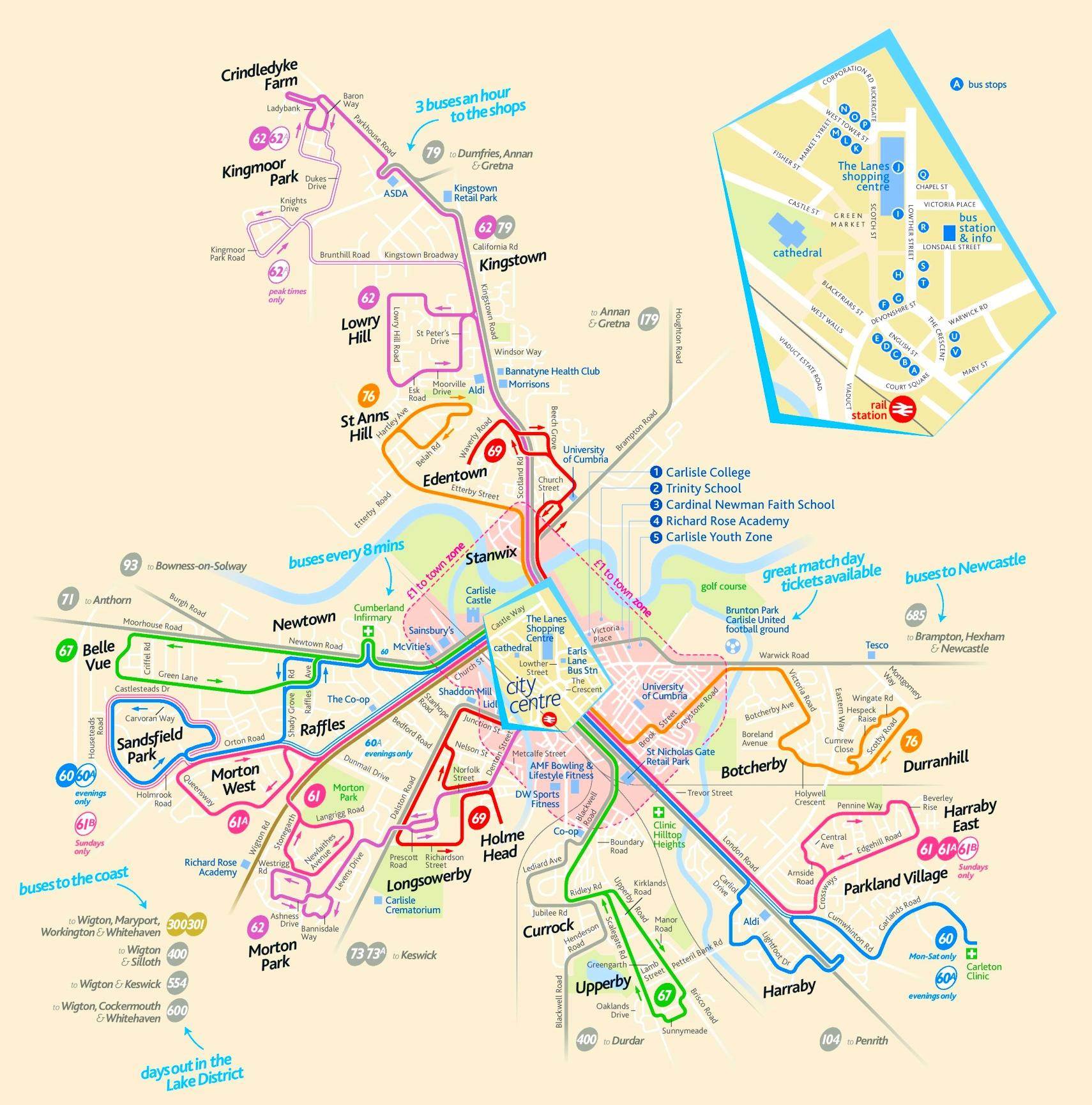 Carlisle Maps UK Maps of Carlisle