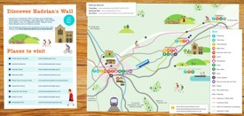 Cumbria tourist map