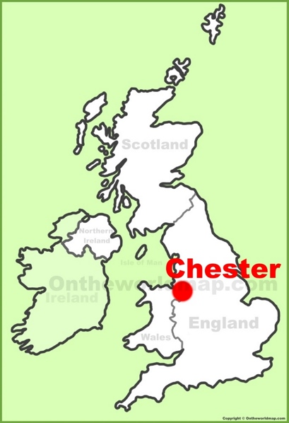 Chester Location Map