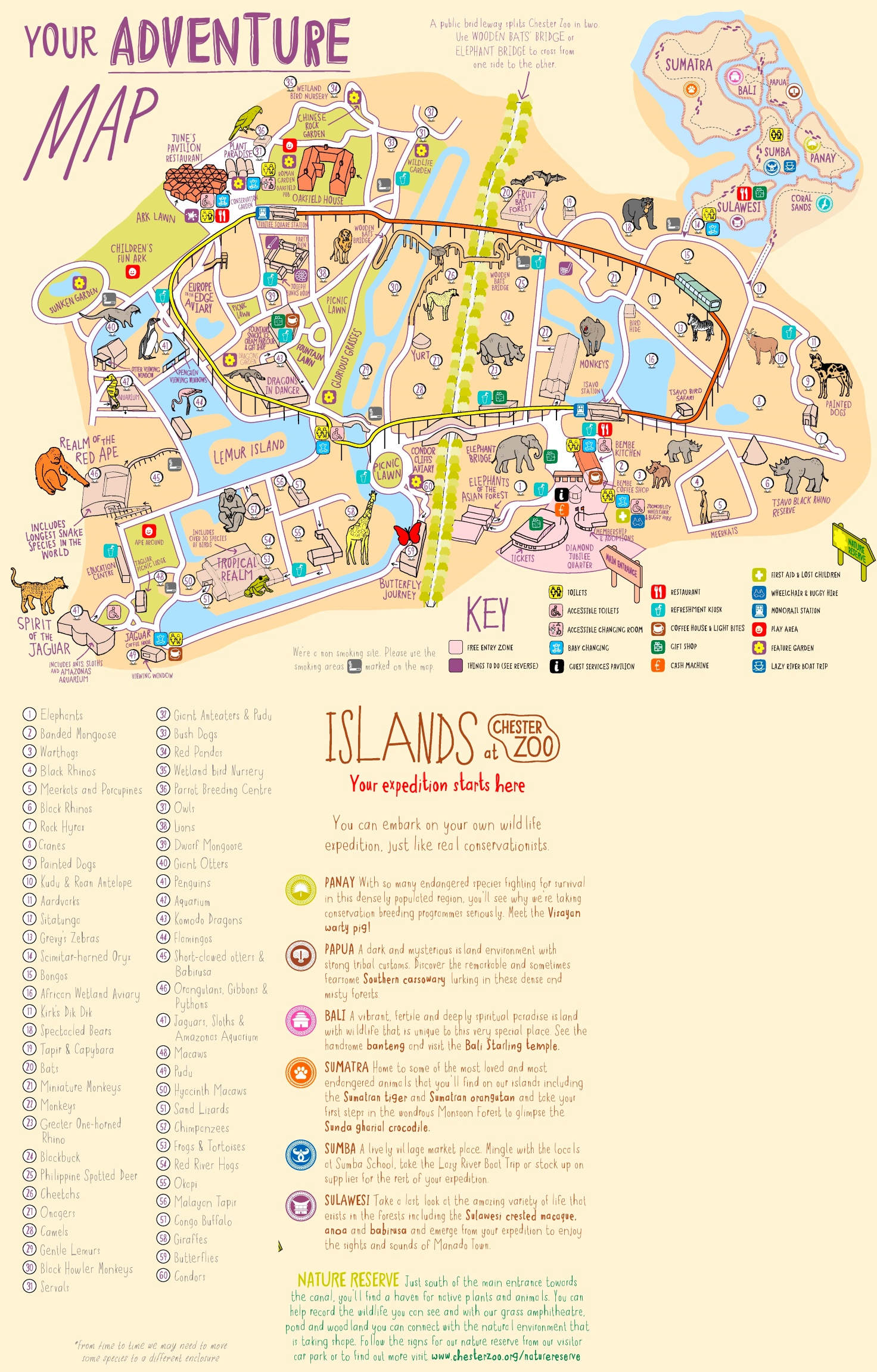 Chester Zoo Map Chester Zoo map Chester Zoo Map