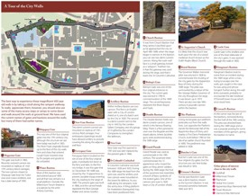 Derry walls map