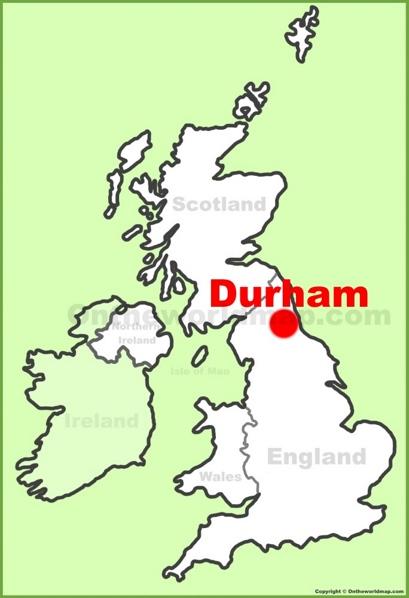Durham Location Map