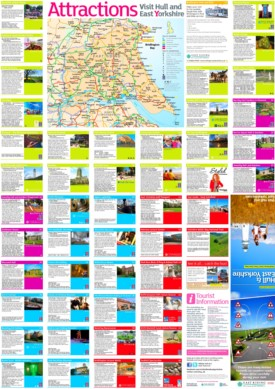 Hull and East Yorkshire tourist map