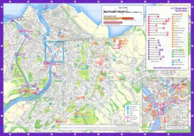 Inverness sightseeing map