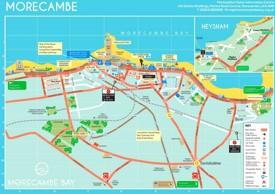 Morecambe tourist map