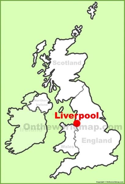 Liverpool Map Uk Liverpool Maps | UK | Maps of Liverpool Liverpool Map Uk