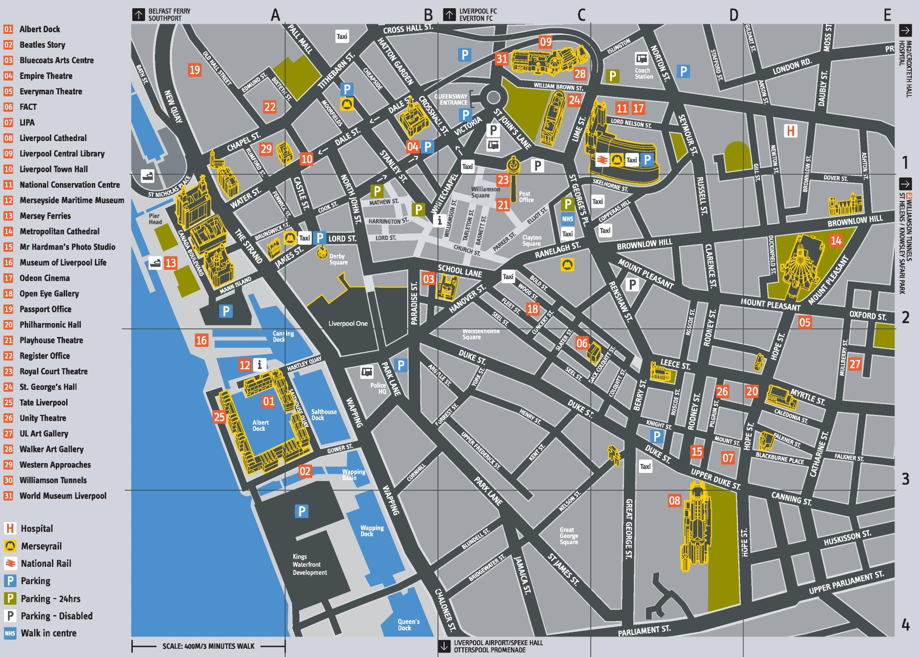Liverpool Maps UK Maps of Liverpool
