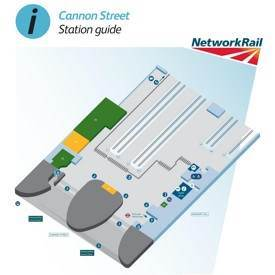 Cannon Street railway station map