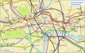 Central London Connections Map