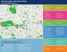 London Pass Attractions Map.London Maps Uk Maps Of London