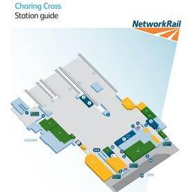 Charing Cross railway station map