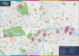 London pass map