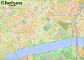 Map of Chelsea