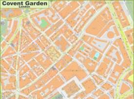 Map of Covent Garden