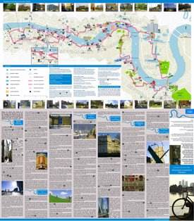 Thames Cultural Cycling Map