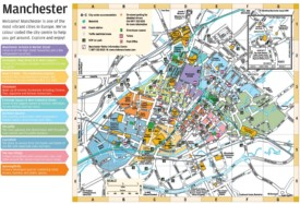 Manchester city center map