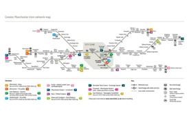 Manchester tram map