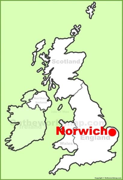 Norwich Maps | UK | Maps of Norwich