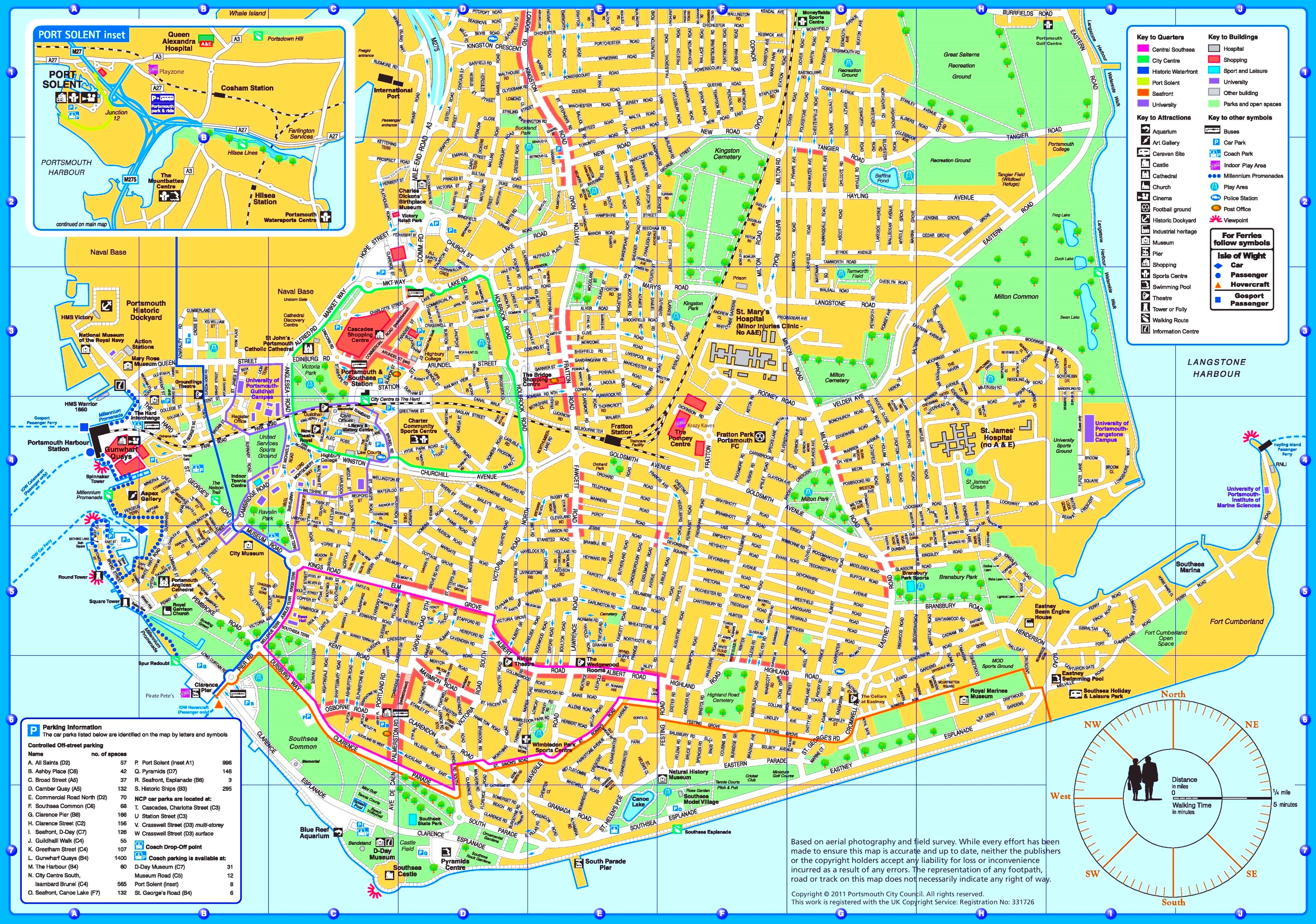 Portsmouth tourist map portsmouth tourist map gumiabroncs Image collections