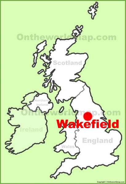 Wakefield Location Map