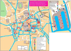 Wolverhampton tourist map