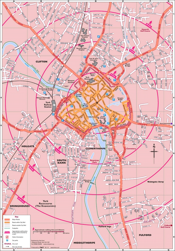 Greater York map
