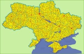 Ukraine road map
