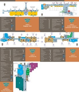 Albuquerque International Sunport map