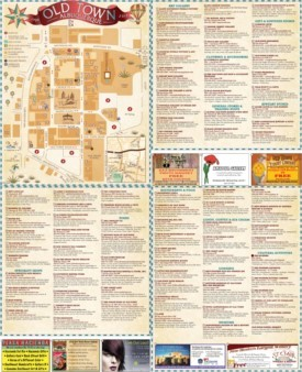 Albuquerque old town map
