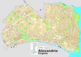 Alexandria street map