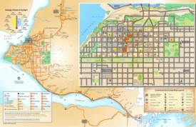 Anchorage tourist map