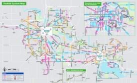 Ann Arbor bus map
