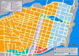 Asbury Park Tourist Map