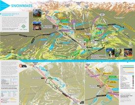 Aspen Snowmass hiking and biking map
