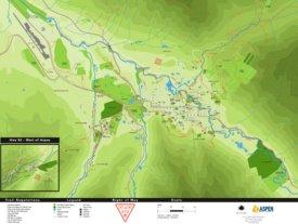 Aspen trail map